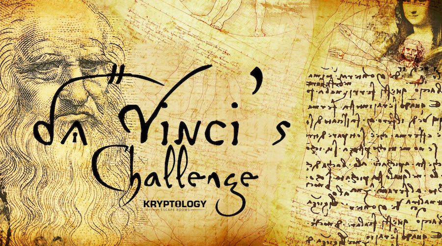 Kryptology Escape Rooms Pigeon Forge - Da Vinci's Madness